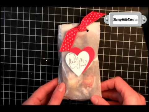 Glassine Treat Bags for Valentine's Day