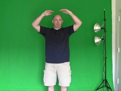 Green Screen: How to make a green screen at home