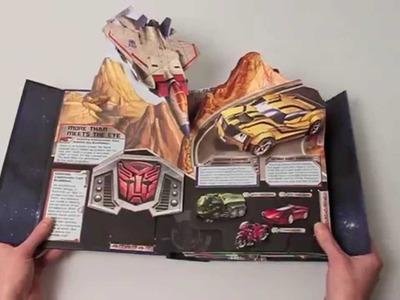 (HD) Impressive Transformers Pop up book by Matthew Reinhart