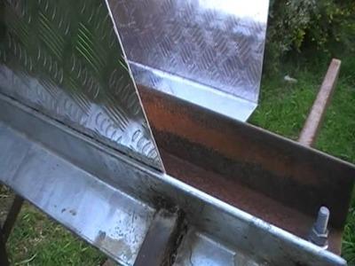 Homemade Bending Tool.sheet metal brake