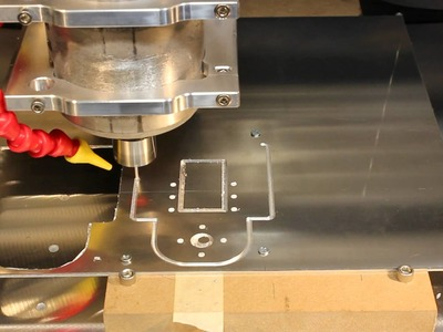 Homemade DIY CNC Series - Mystery Part In Aluminum 2nd Try - Neo7CNC.com