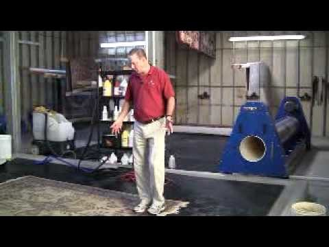 How To Clean An Oriental Rug - Part 1: Soil Extraction & Washing