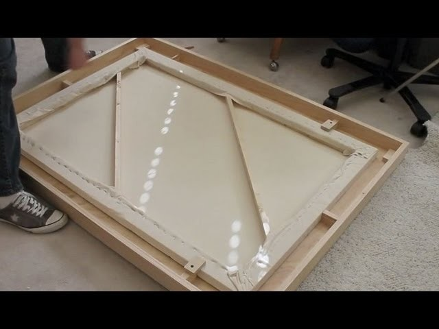 How to Make a Large Wooden Picture Frame