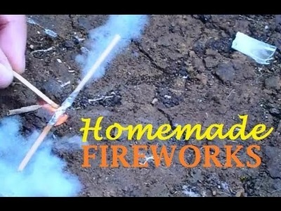 How To Make a Simple Fireworks (EASY TO MAKE!!)