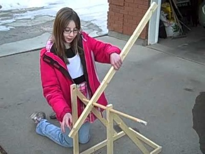 How to make a Trebuchet (catapult)