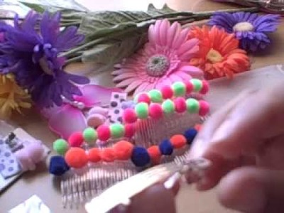 How to make Really Cute Hair Bows Accessories