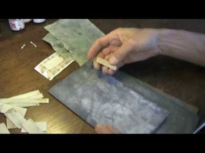 How to make Scrimshaw