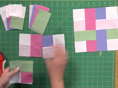 How to Make the Woven Scrappy Strips Quilt