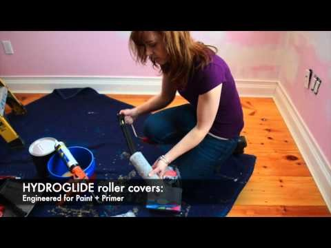 How to paint a room: Step 1---Get started!