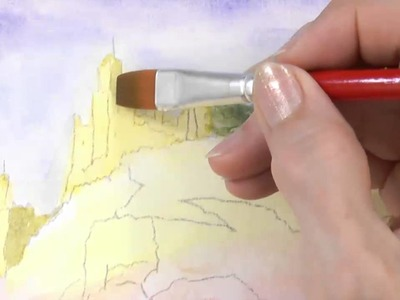 How to Paint Shadows and Light - Watercolor Painting Tutorial