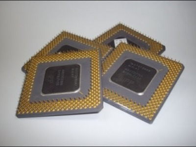 How to recover Gold from Scrap Ceramic CPU - Part 1