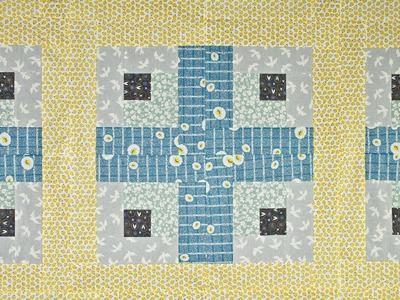 How to Sew a Simple Log Cabin Quilt Block
