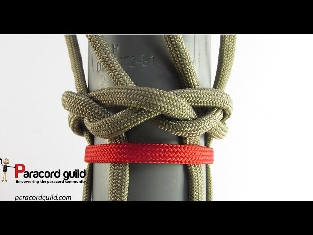 How to start a braid using a turk's head knot
