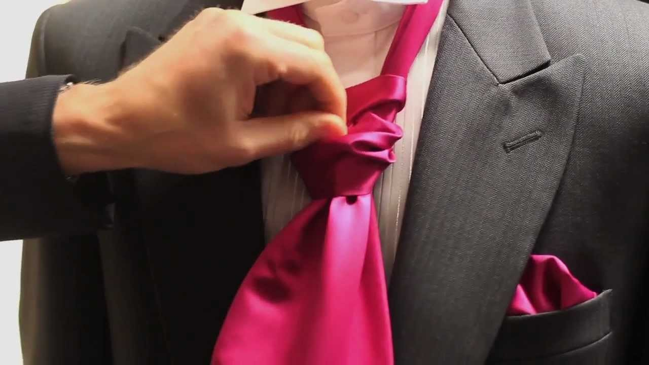 How to Tie a Cravat by Simon James