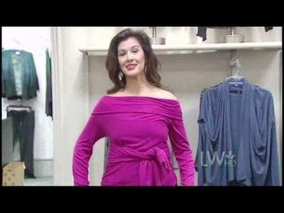 How To Wear A Wrap Cardigan - Sarah Shah