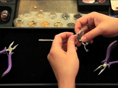 Jewelry Making: How to Make Monocle Charm Necklace