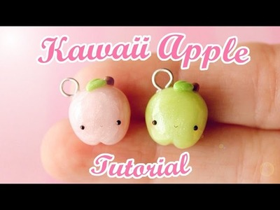 Kawaii Apple Charm │ Polymer Clay Tutorial