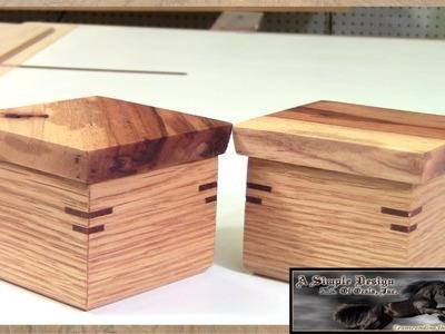 Make a Simple Lift Lid Box Part 1