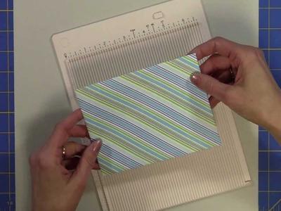 Martha Stewart Mini Scoring Board . .Easiest Envelopes Ever!!!