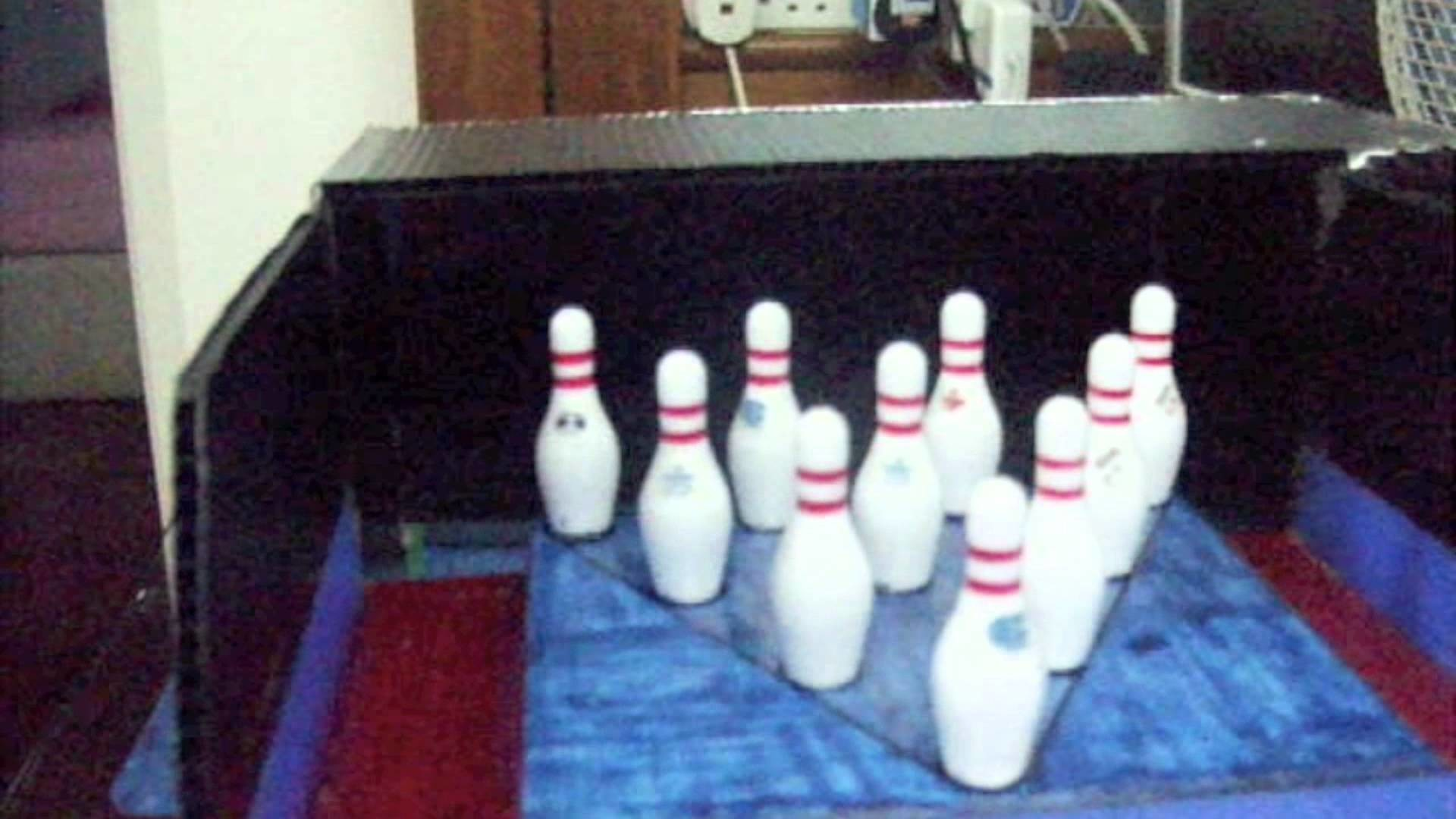 Mini Home Bowling Alley