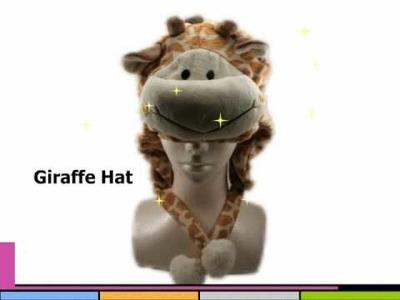 Panda Hat , Polar Bear Beanie Hat and Animal Beanie Hat