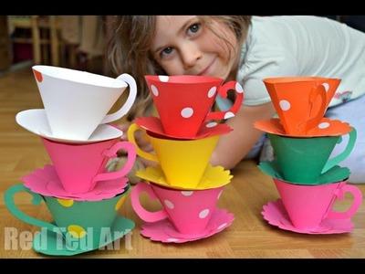 Paper Teacups Tutorial