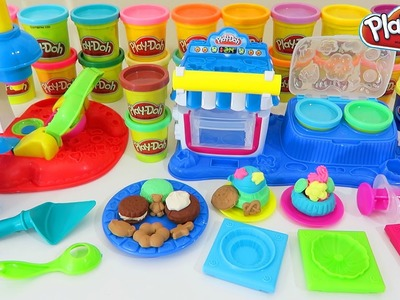 Play Doh Double Desserts & Play Doh Flip n Frost Cookies Sweet Shoppe Playsets!