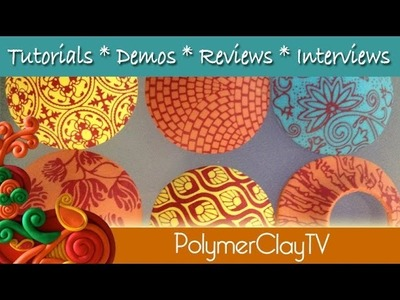Polymer Clay Tutorial New Sculpey Product Demonstration