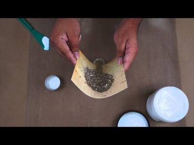 Prima Quick Tip: Using Prima Art Basics 3D Gloss Gel & Art Ingredients Glass Glitter.