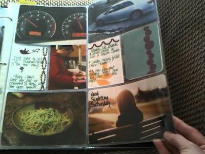 Project Life Album 2011 Part 1