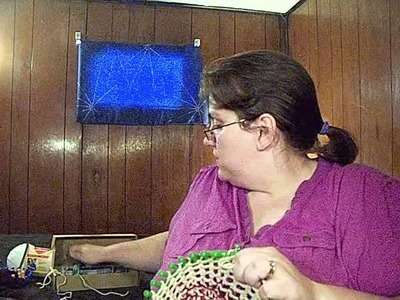 Simply Intertwined: A Bag On A Round Loom