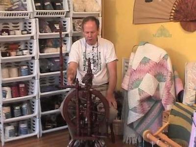 The Kromski Minstrel Spinning Wheel