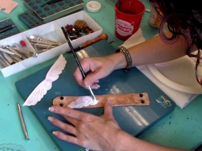 Watch Camille Create a Hand-Tooled Leather Cuff!  by Brave Girls Club