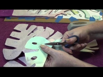 Wild Monstera a Modern Hawaiian Applique Project by Stacy Michell