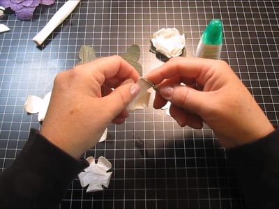 3D Flowers using the Silhouette Cameo
