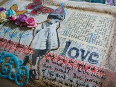 Art journal - Love my Journey (thru my journal)