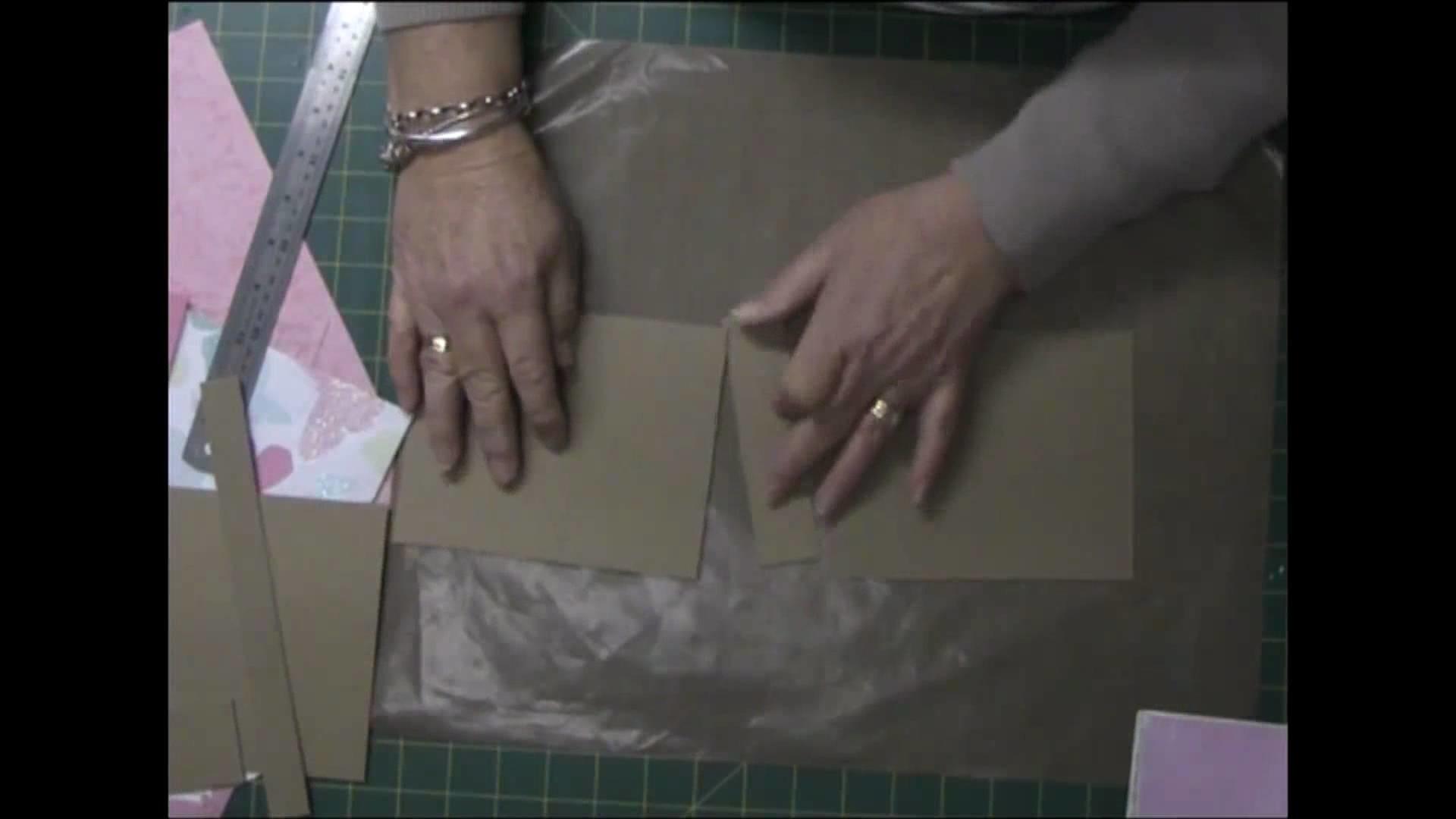Binding My Paper Bag Mini Album