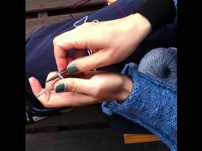 Cast on stitches - Come avviare le maglie