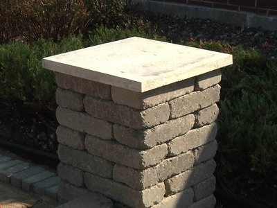 Concrete Block Columns - How To Build - Menards