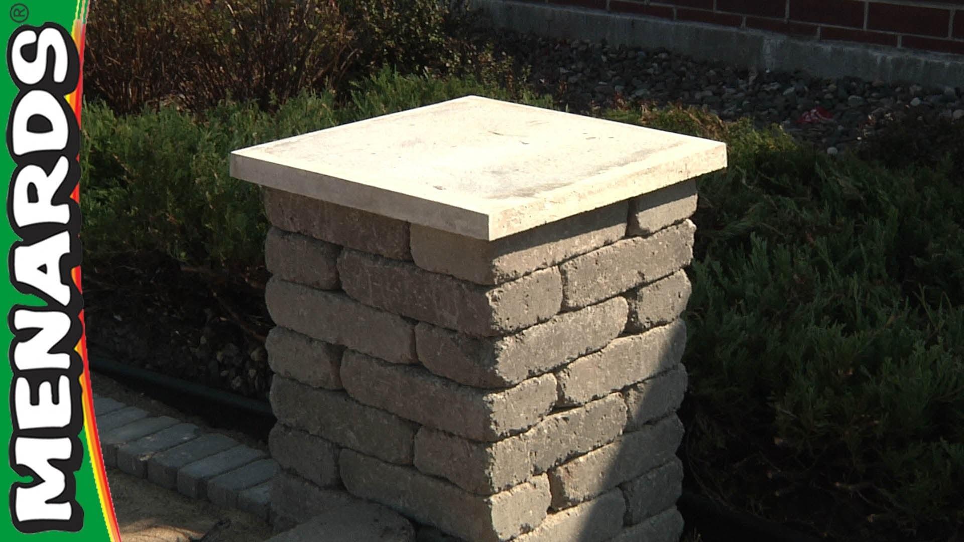 Concrete Block Columns - How To Build - Menards