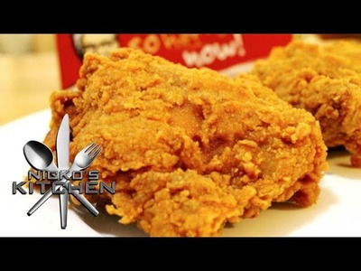 COPYCAT KFC FRIED CHICKEN - HOMEMADE