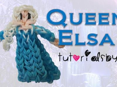 {Disney Princess Series} Queen Elsa Figurine.Action Figure Rainbow Loom Tutorial