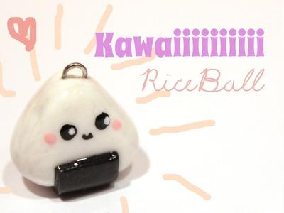 ◕‿‿◕ Rice Ball! Kawaii Friday 67 (Tutorial in Polymer Clay)