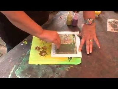 Fabric Painting Feb 2014