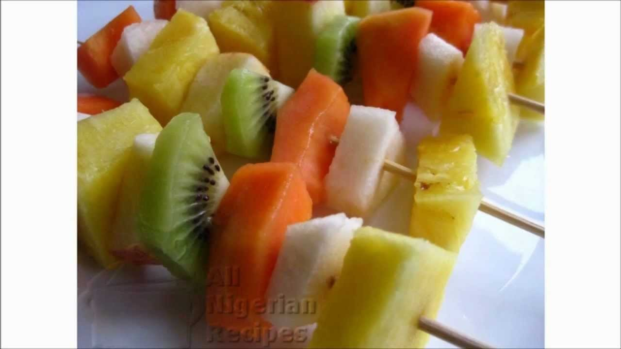 Fruit Skewers: A Great Way to Serve Fruits!