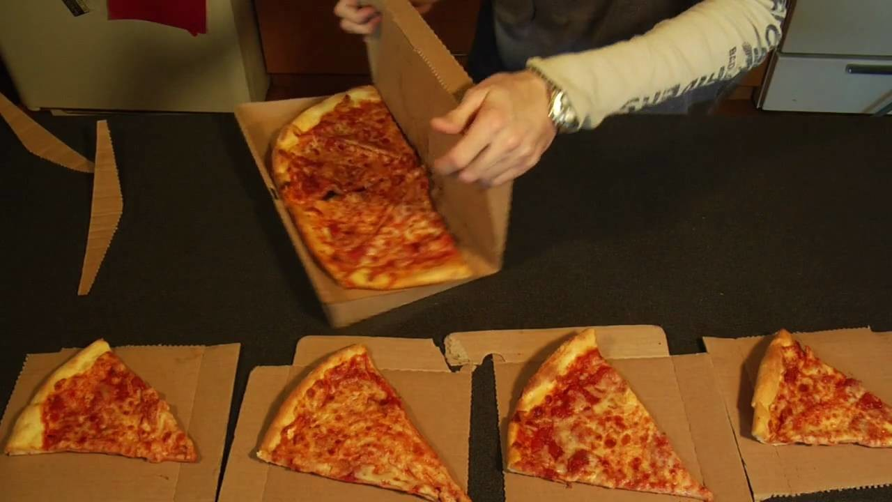GreenBox: Pizza Box Turns into Plates & Storage Unit
