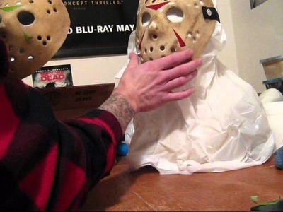 Hockey mask painting Tutorial Jason Myers Freddy prop Friday the 13th
