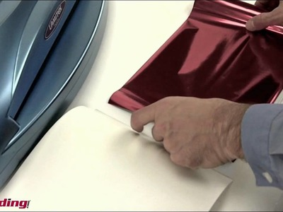 How To Foil Laminate with your Pouch Laminator