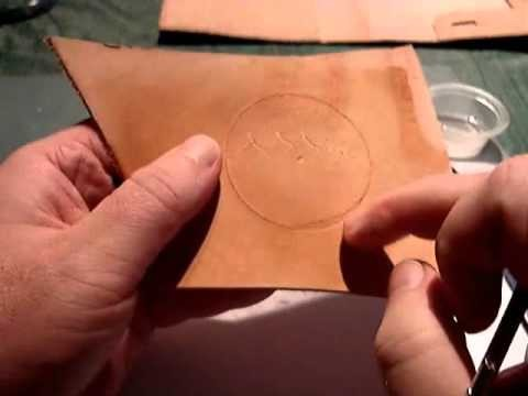 How to make a custom leather cover for your Barnes and Noble NOOK. Part 2