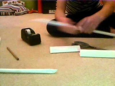 How to make a decent sword out of paper